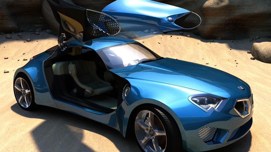 Stefan Habel :: BMW Z12 Concept (2008)