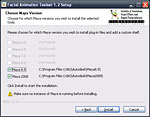 Screenshot of the toolset's Windows installer, page 4
