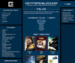 Screenshot of centropoholics.com phase 4 - Films